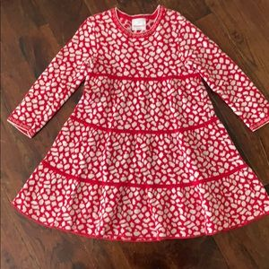 Hanna Andersson, size 110, sweater twirl dress